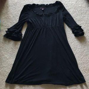 Black Betsy Johnson dress